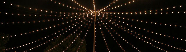 string light garland